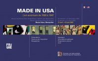 Made in USA - L'art américain de 1908 à 1947