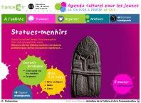 Les statues-menhirs - Agenda cuturel pour les jeunes - France 5