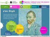 L'année Van Gogh - France 5 - Agenda culturel pour les jeunes